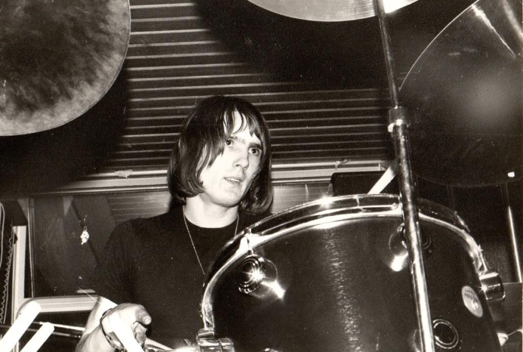 The drummer from Bram Stoker, Prog Rock band