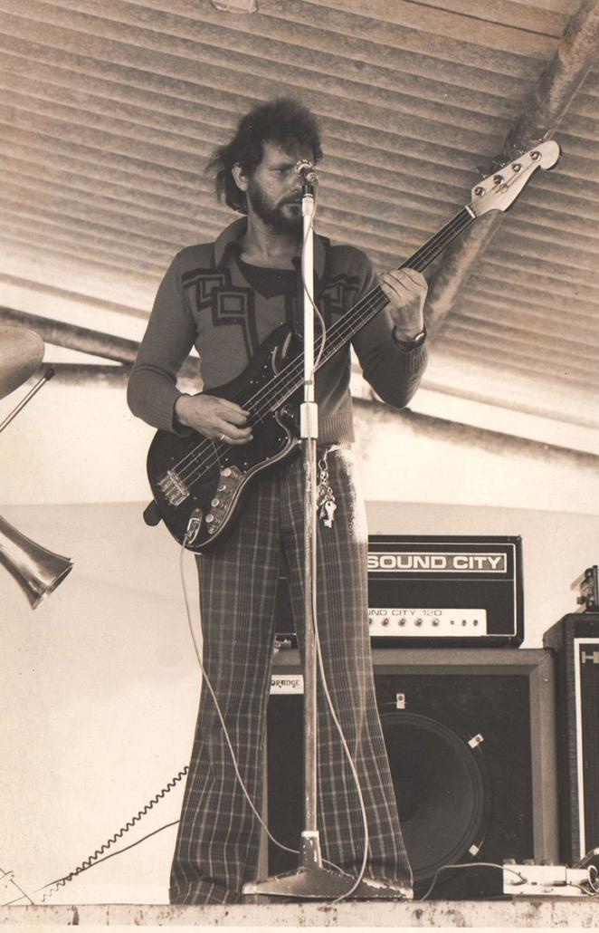Pete Ballam from Prog Rock band Bram Stoker